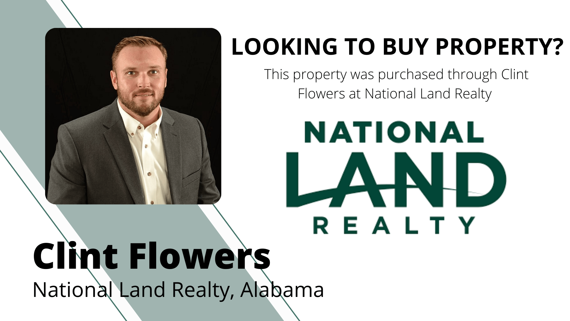 Clint Flowers Land Agent Ad